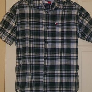 Boy's plaid shirt